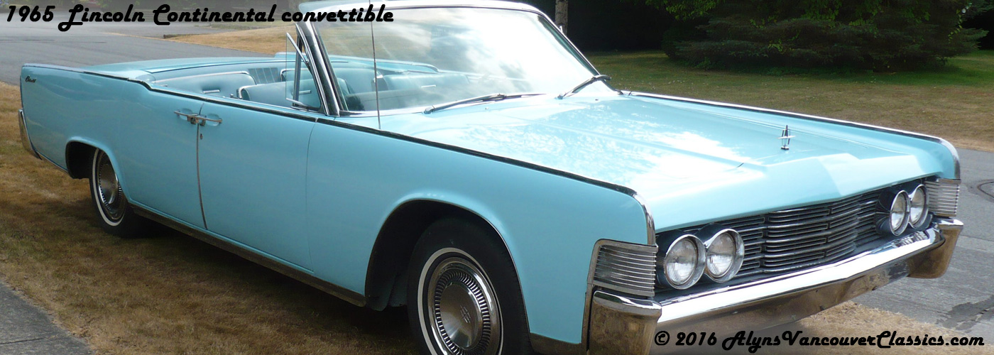 1965-Lincoln-Continental-convertible
